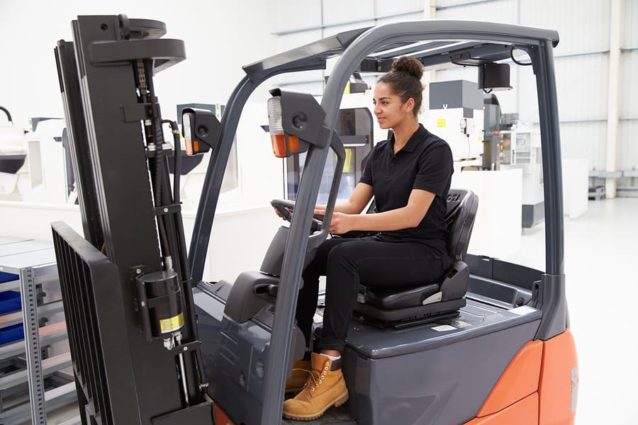 Age to drive a forklift