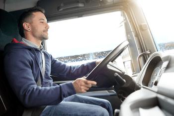 drive a semi truck